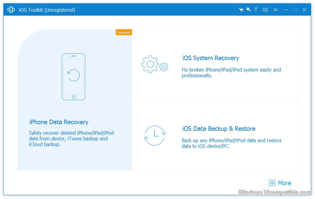 AnyMP4 iPhone Data Recovery 8 0 32 Free download